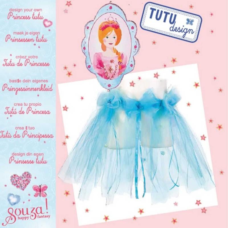 Zestaw do robienia niebieskiej spódniczki Tutu +6 lat, Souza!