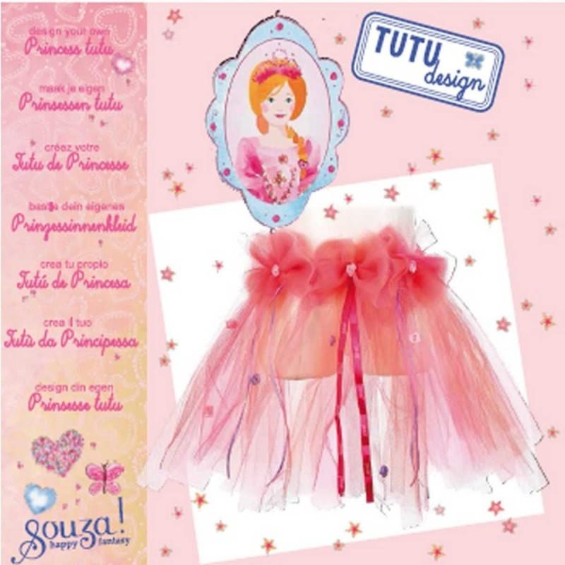 Zestaw do robienia różowej spódniczki Tutu dla 6 latki, Souza!