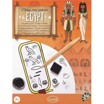 Zestaw do kaligrafii Piszę swoje Imię Hieroglifami od 7 lat, Aladine
