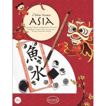 Zestaw do kaligrafii Piszę po Chińsku dla dzieci od 7 lat, Aladine
