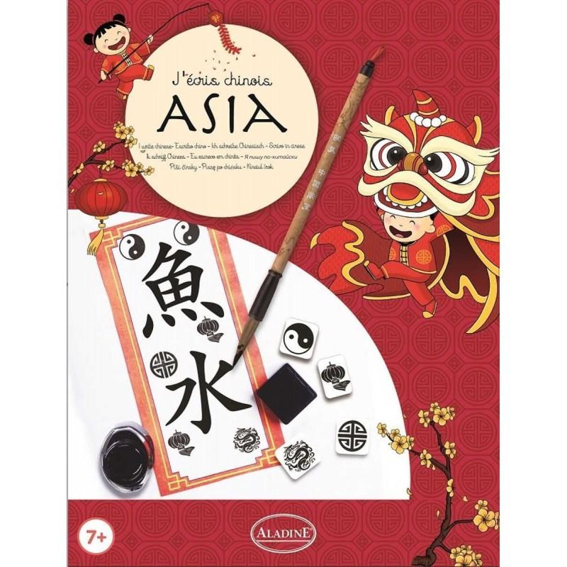 Zestaw do kaligrafii Piszę po Chińsku dla dzieci od 7 lat