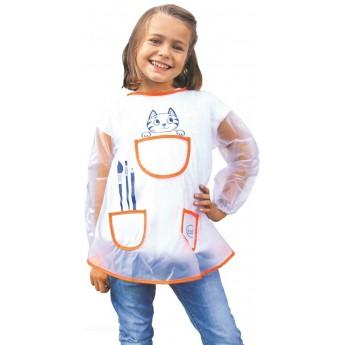 Fartuszek do prac plastycznych dla dzieci 5-8 lat, Aladine