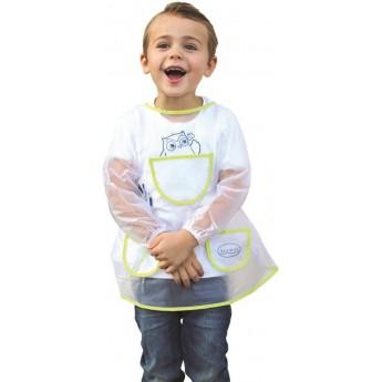 Fartuszek do prac plastycznych dla dzieci 3-5 lat, Aladine