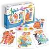 Aquarellum Dzieci i Zwierzęta 4 obrazy i farby, SentoSphere