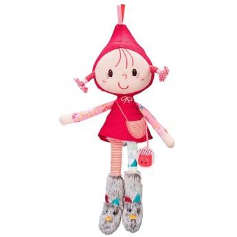 Lalka szmacianka Czerwony Kapturek +2 lat, Lilliputiens
