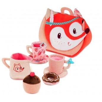 Lilliputiens Bajkowy Las Lisica Alice zestaw Tea Time