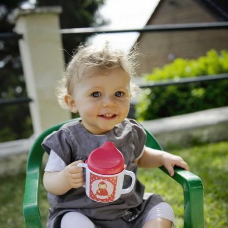 Kubek z dziubkiem dla niemowlaka Czerwony Kapturek, Ebulobo