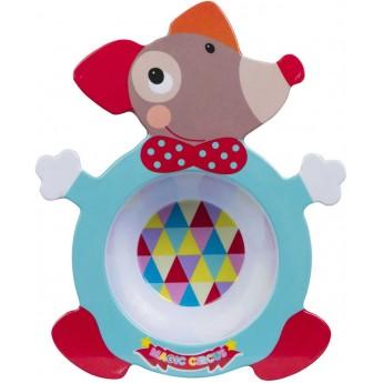 Miseczka dla niemowlaka i dziecka Magic Circus, Ebulobo