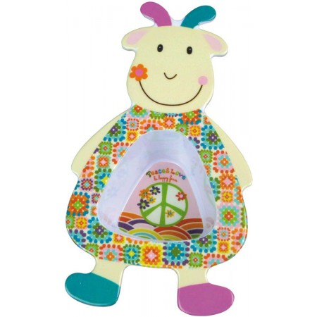 Miseczka dla niemowlaka i dziecka Koza Happy Farm, Ebulobo
