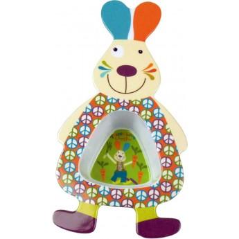 Miseczka dla niemowlaka i dziecka Królik Happy Farm, Ebulobo
