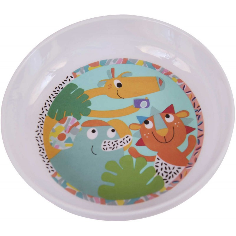 Miseczka dla niemowlaka i dziecka Jungle Boogie, Ebulobo