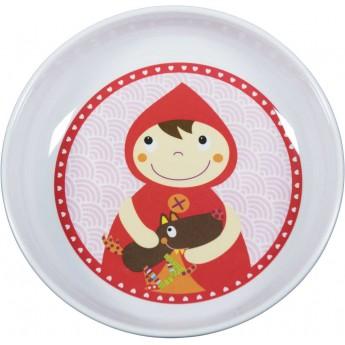 Miseczka dla niemowlaka i dziecka Czerwony Kapturek, Ebulobo