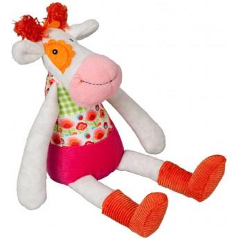 Ebulobo Przytulanka sensoryczna Krowa Anemone dla dzieci od 0mc