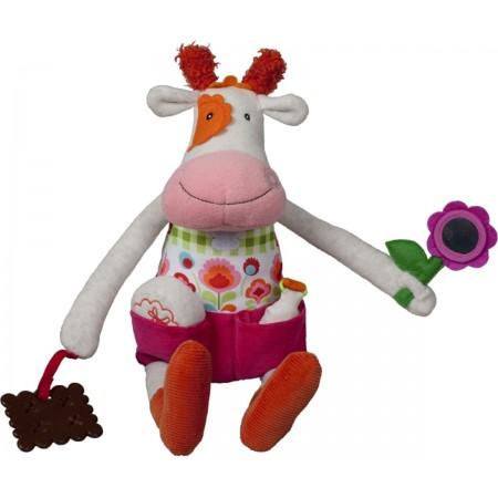 Edukacyjna zabawka dla niemowląt Krowa Anemone, Ebulobo