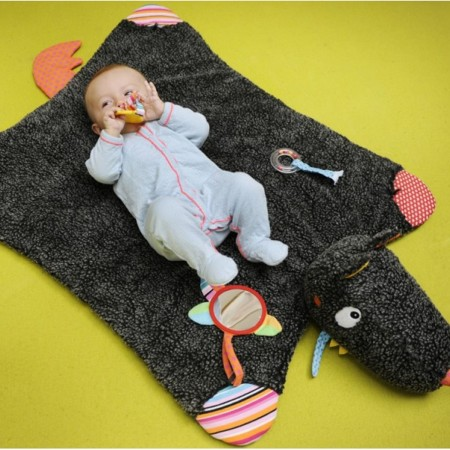 Mata edukacyjna dla niemowląt Szalony Wilk, Ebulobo   Dadum Kraków