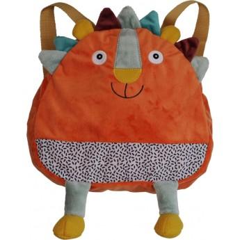 Plecaczek pluszowy Lew Woogy dla dzieci od 12 mc, Ebulobo