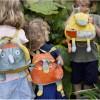 Plecaczek pluszowy Słoń Ziggy dla dzieci od 12 mc, Ebulobo
