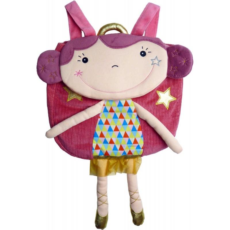 Plecaczek pluszowy Betty dla dzieci od 12 mc, Ebulobo