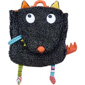 Plecaczek pluszowy Szalony Wilk dla dzieci od 12 mc, Ebulobo