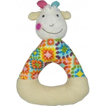 Grzechotka pluszowa dla niemowląt Koza Huguette +0m, Ebulobo