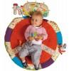 Mata edukacyjna z pałąkiem dla niemowląt vintage Happy Farm, Ebulobo