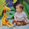 Żyrafa Billie XXL pluszak 70cm przytulanka od 6 mc, Ebulobo