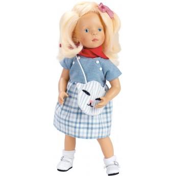 Lalka dla dzieci blondynka Mila 34cm -S. Natterer, Petitcollin