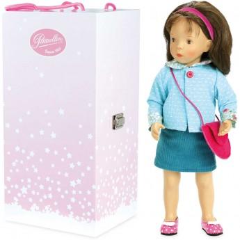 Lalka dla dzieci z walizką Maelle 34cm -S. Natterer, Petitcollin