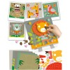 Kolaż plastyczny dla dzieci +3 Zwierzęta Sawanny, Crea Lign'