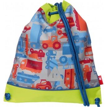 Plecak worek dla chłopca do przedszkola Pojazdy, Sigikid