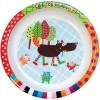 Zestaw obiadowy dla niemowląt Szalony Wilk 4 elementy, Ebulobo