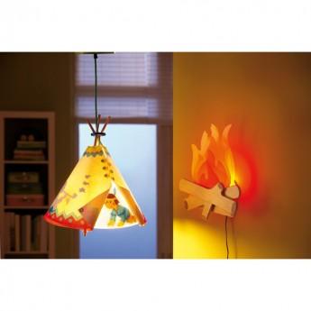 Indianin lampa wisząca, Haba