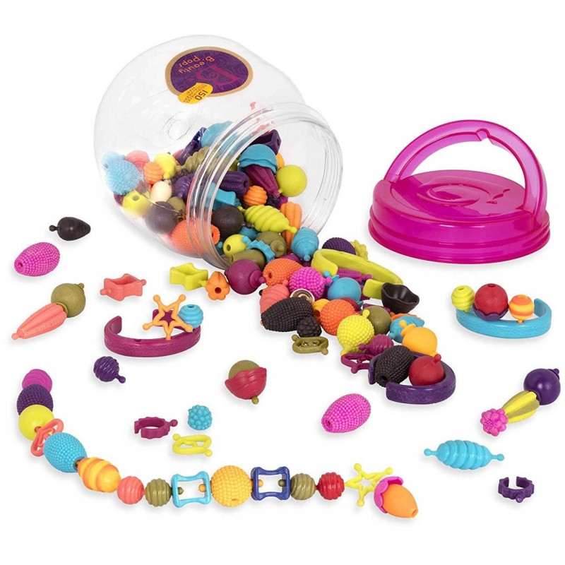 Pop-Arty! 150 elementów do zrobienia biżuterii, B.Toys
