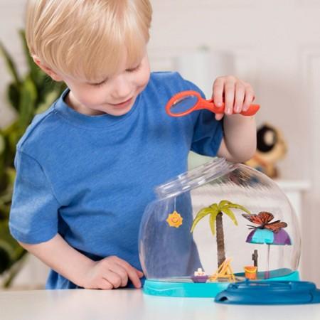 B.Toys Pojemnik na owady z lupą B. Tiki Retreat +4 lat