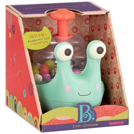 B.Toys Zabawka edukacyjna świecąca Ślimak dla niemowląt