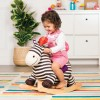 B.Toys Pluszowa zebra na biegunach Rodeo Rocker Kazoo +18m