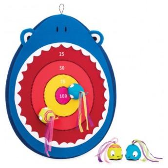 B.Toys Tarcza z rzutkami na rzepy Rekin gra od 3 lat