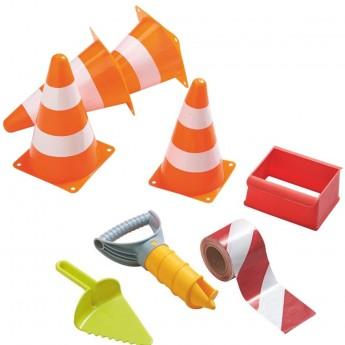 Haba Zabawki do piaskownicy dla chłopca zestaw budowniczy +3
