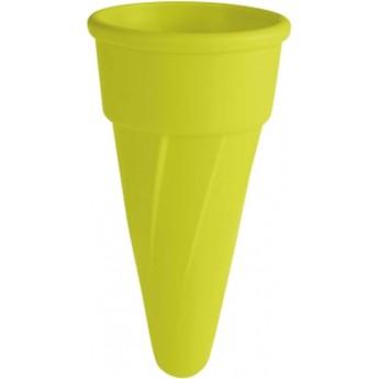 Foremka do piasku dla dzieci -zielony rożek do lodów +3
