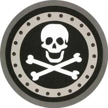 Tarcza pirata dla dzieci czarna zabawka piankowa od 3 lat, Mystery