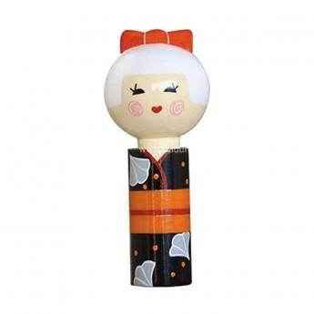 Kokeshi Akemi -Piękność Zmierzchu, japońska laleczka drewniana
