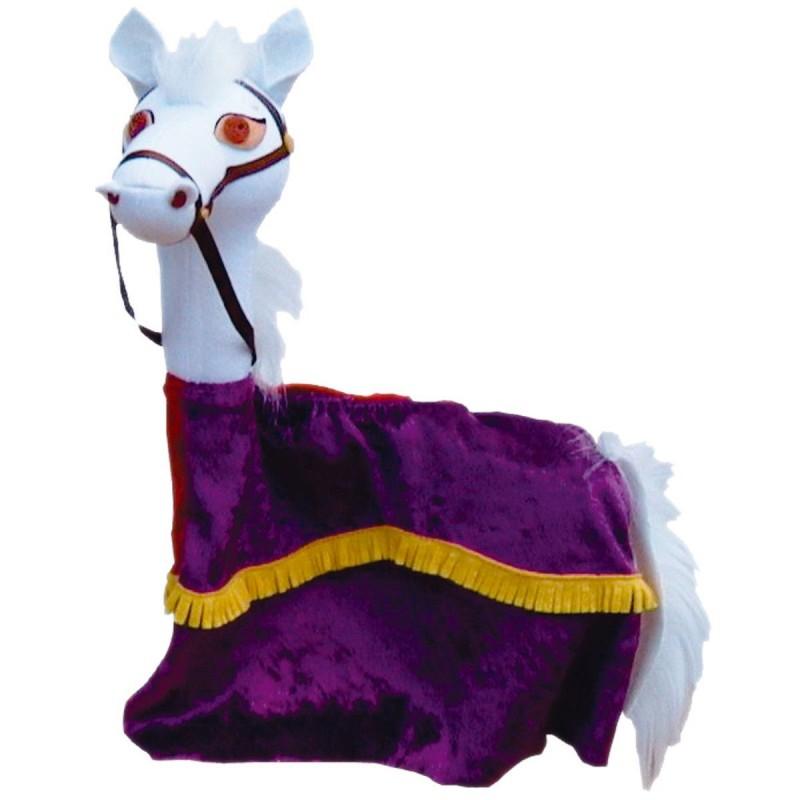 Koń pacynka na rękę do teatrzyków dla dzieci
