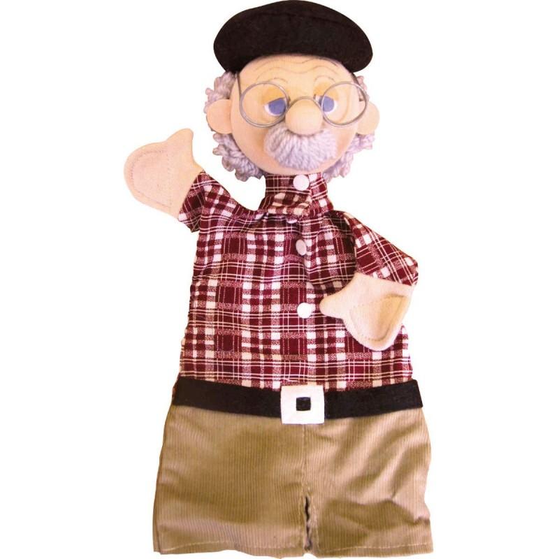 Dżepetto pacynka na rękę do teatrzyków dla dzieci