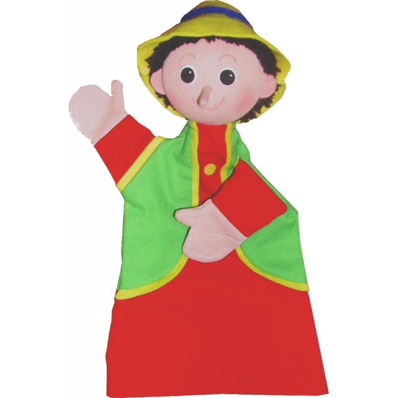 Pinokio pacynka na rękę do teatrzyków dla dzieci
