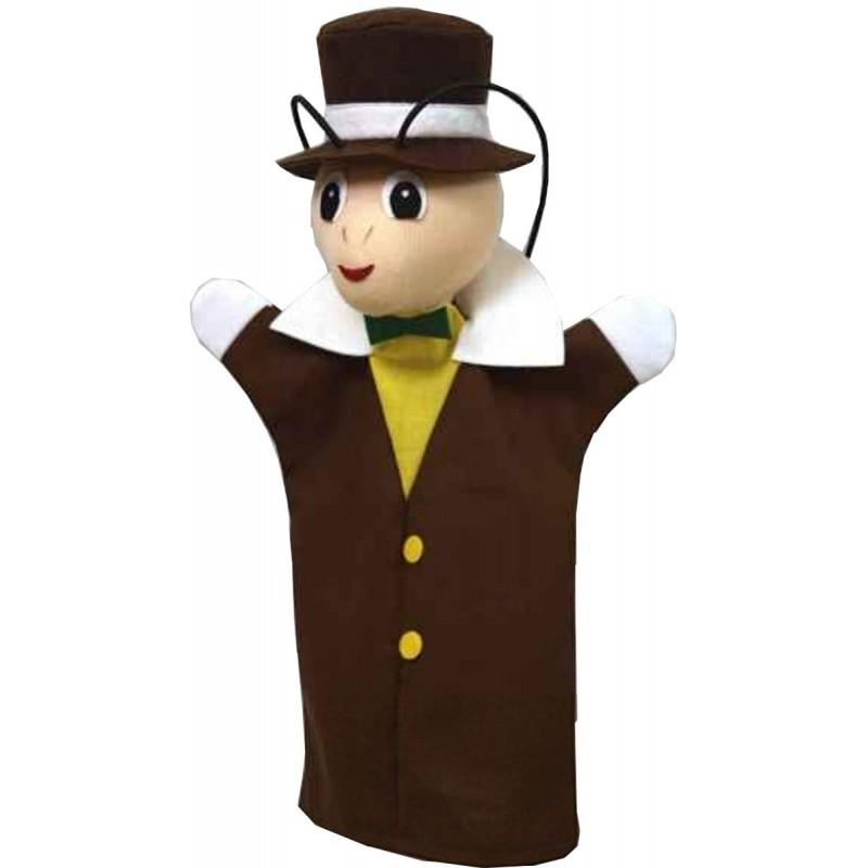 Jiminy Świerszcz pacynka na rękę do teatrzyków dla dzieci, Anima Scena