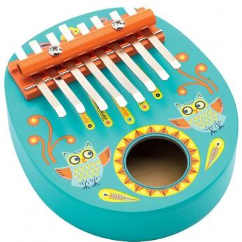 Djeco Kalimba Sowa zabawka muzyczna dla dzieci od 4 lat