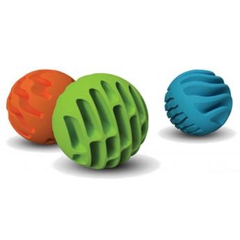 Sensoryczne piłeczki silikonowe +6m Sensory Rollers, Fat Brain Toys