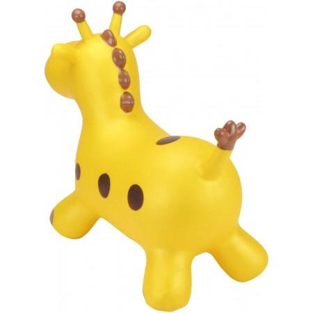 Skoczek gumowy Żyrafa Żółta dla dzieci +12mc rozm. S/M, Happy Hopperz