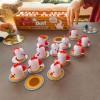 Kurnik Peek-A-Doofle Doo gra planszowa od 3 lat, Fat Brain Toys
