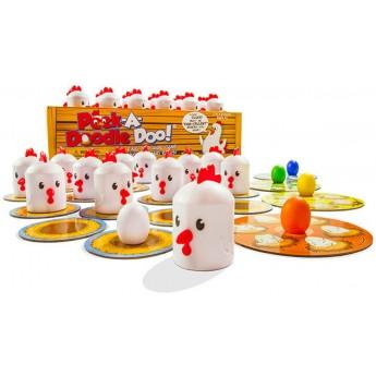 Gra memo Kurnik Peek-A-Doofle Doo +3, Fat Brain Toys